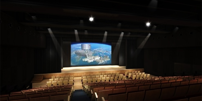 Fukuoka City Science Museum Grand Hall